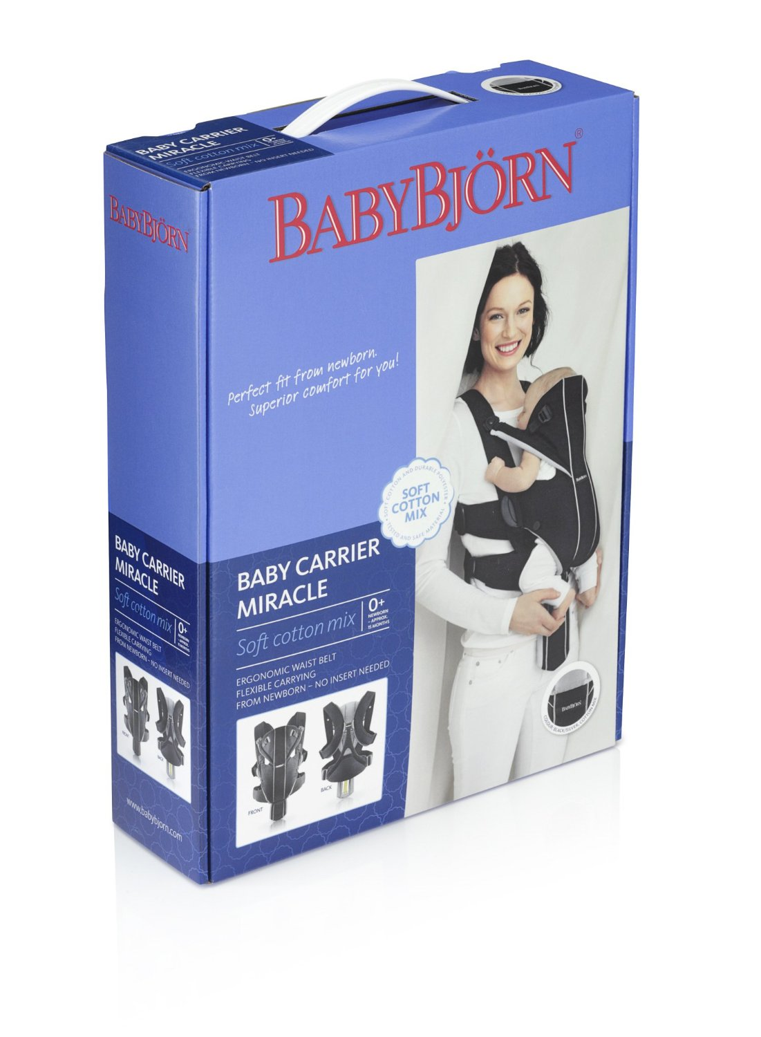 a4ee31d911a Baby Bjorn Baby Carrier Miracle - Easy Mom and Baby