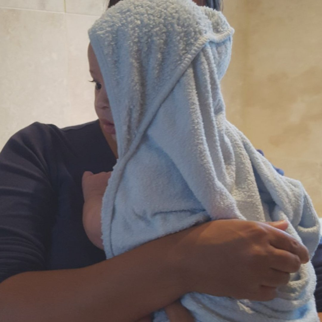 Luxury Bamboo Hooded Bath Swim Towel For Older Boys